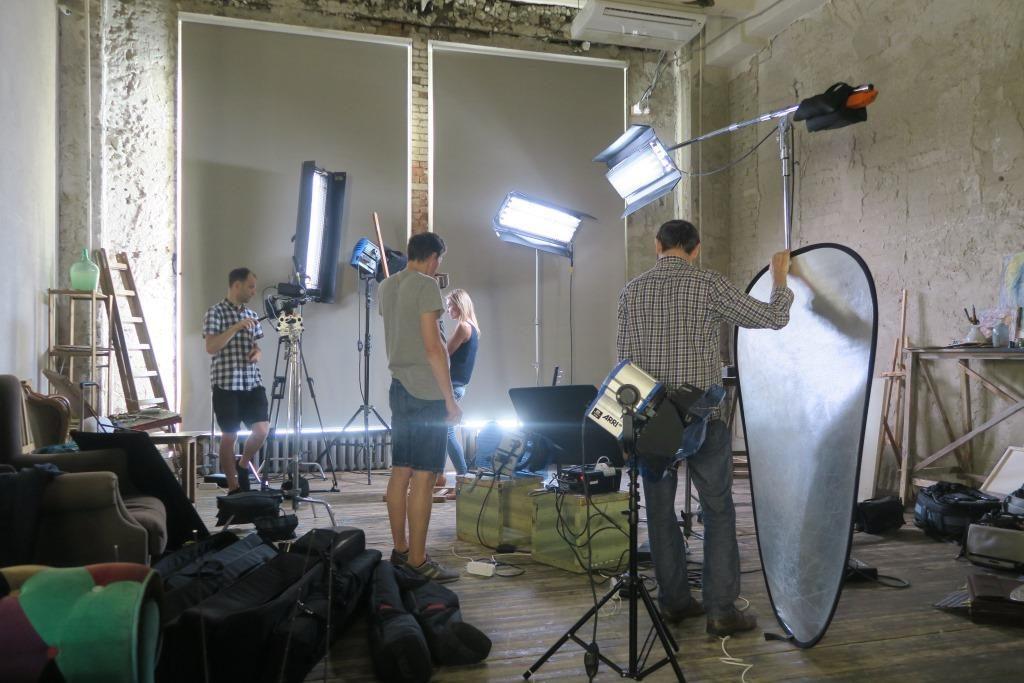 Свет для постановочных студийных съёмок
