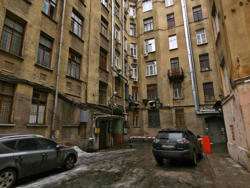 Городские трущобы Москвы