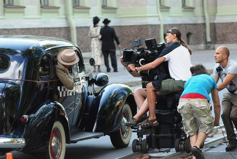 съёмки в Москве