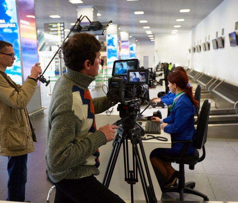 Аэропорт Жуковский реклама видео Uran TV