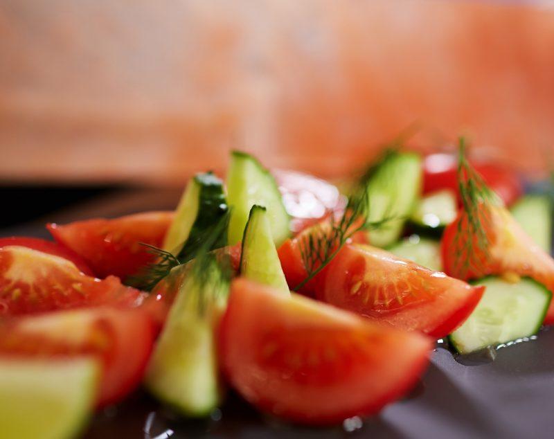Фуд-съёмка салаты
