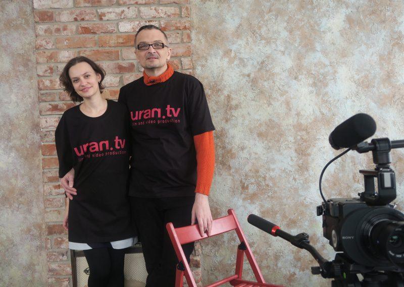 UranTV Омелия Олсен и Сергей Гончаренко