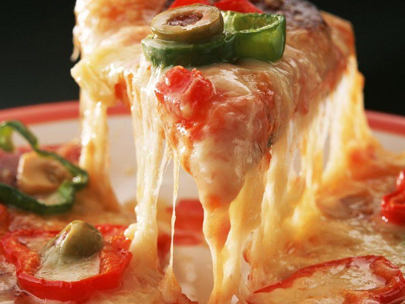 Фуд-съёмка пицца