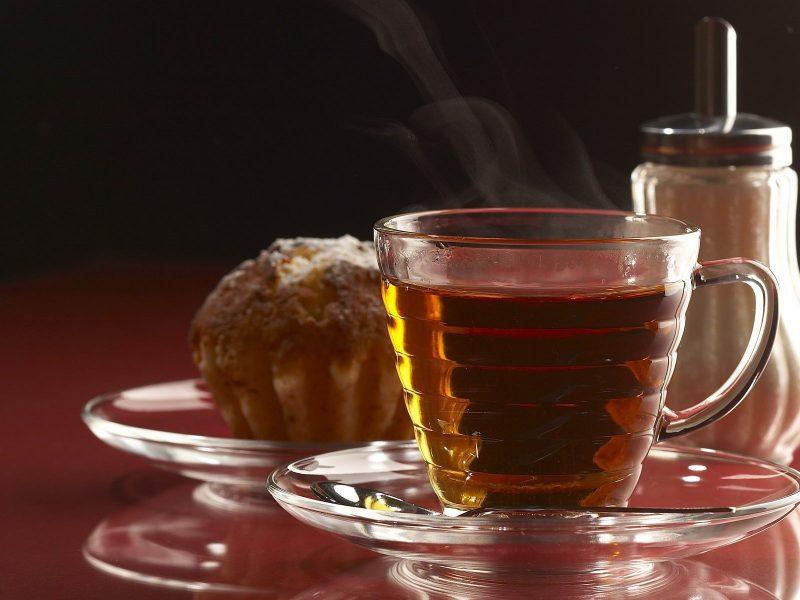 Фуд-фото горячий чай