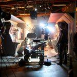 Производство видео - съёмочная площадка