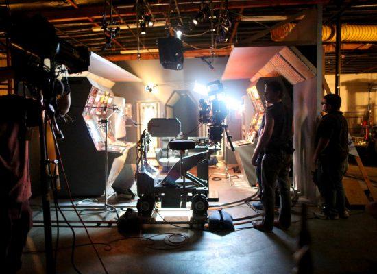 Производство видео — съёмочная площадка