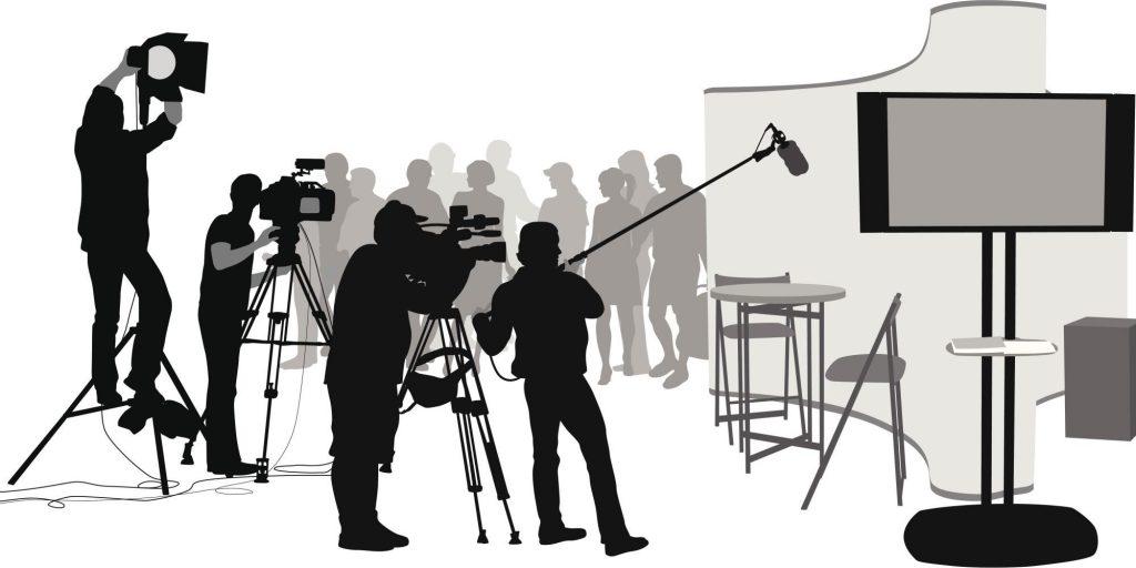 Съёмочная группа и съёмочная площадка