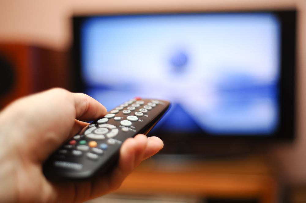 Человек и телевизор - хронометраж ролика