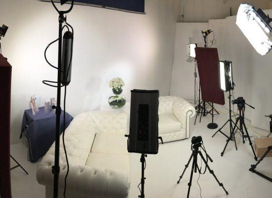 Студийные видеосъёмки рекламы
